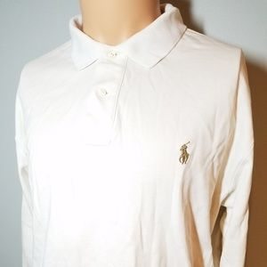 Mens Polo Ralph Lauren Long Sleeve Shirt sz Medium